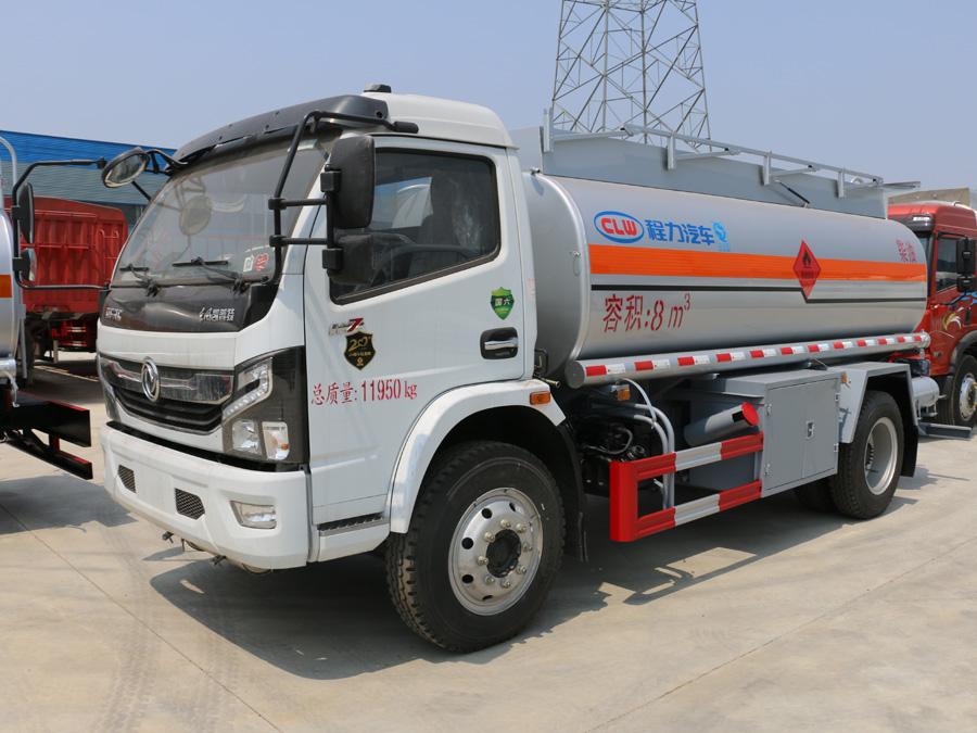 国六东风8吨加油车